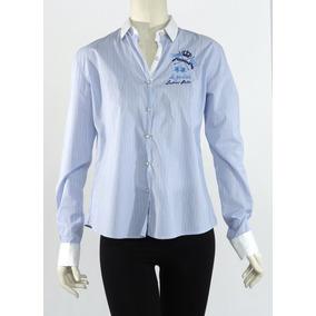 Polo Camisa, Rayas Azules La Martina
