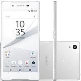 Smartphone Sony Xperia Z5 E6603 Branco 32gb (de Vitrine)