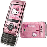 Sony Ericsson W395 2 Mpx Slider Hello Kitty Radio Telcel
