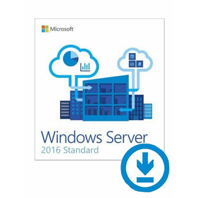 Windows Server 2016 Standard + 50 Cal Rds Dispositivo + Nf-e