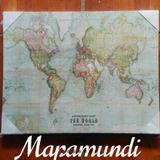 Cuadro Cartografico Mapamundi.