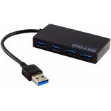 Hub Usb 3.0 De 4 Puertos Alta Velocidad 5 Gbps Con Cable ®