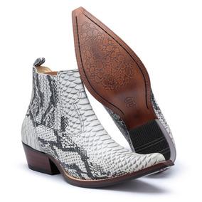 e4d80fde0 7m Boots Texana - Botas para Masculino Branco no Mercado Livre Brasil