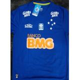 354107cf63 Camisa Cruzeiro Azul Jogo 9 Borges M - Camisas de Futebol no Mercado ...