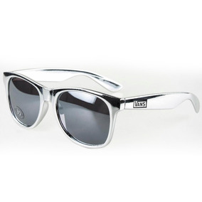 4bd73f641e297 Óculos De Sol Vans Spicoli 4 Metallic Silver Prata Original