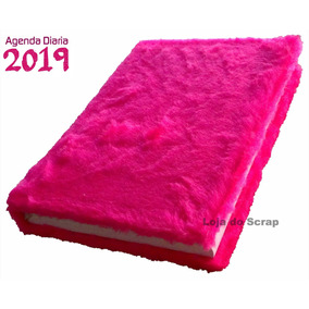 Agenda Diaria Pelucia Pink (rosa Feminina)