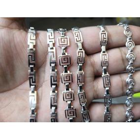 bc40f35f993e Pulsera Plata Grecas Para Dama - Joyería en Mercado Libre México