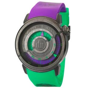 Relógio Masculino Analógico Yankee Street Ys30158 Roxo/verde
