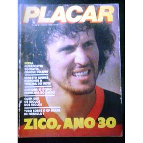 Revistas Placar Capa Zico Flamengo