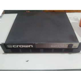 Potência Crown 460csl - Equip De Estúdio - Made In Usa