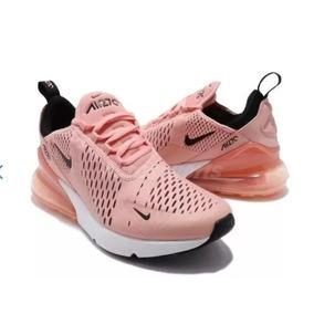new product fa368 a0c84 Nike Air Max Gel Bolha 270 Feminino Rosa 2018