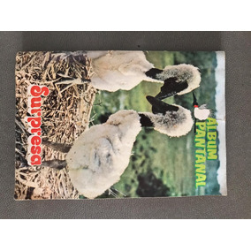 Álbum Animais Pantanal De 1984 - Nestlé Chocolate Surpresa