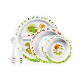 Avent - Set De Platos Mealtime 6m
