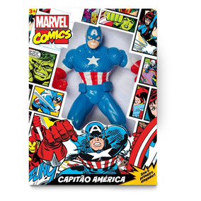 Boneco Capitão América Comics Gigante Mimo 0552