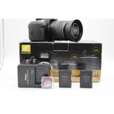 Nikon D3200 Memoria De 32gb