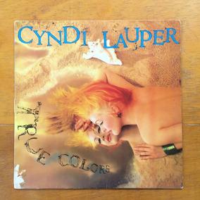Lp: Cyndi Lauper - True Colors - (c/ Encarte) 1986