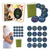 Tiny Hugz embarazo álbum De Pegatinas + 16 bebé Pegat 8689dc5865b7