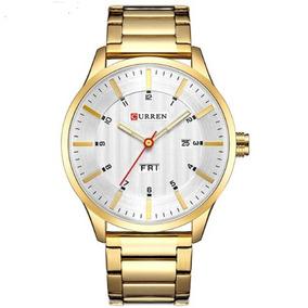 Relógio Masculino, Pulseira Aço, De Luxo Frete Grátis