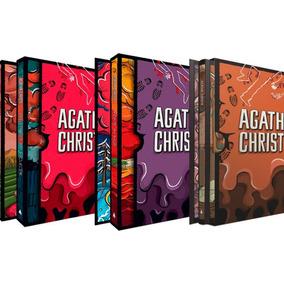 Box 1 2 E 3 Coleção Agatha Christie (9 Livros)