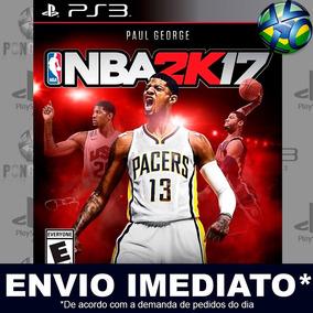 Jogo Ps3 Nba 2k17   Mídia Digital Psn - Play 3 - Envio Agora
