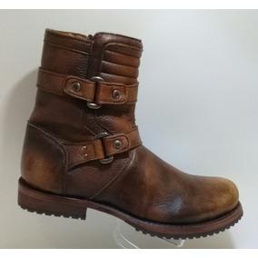 61e6f260819 Botas Franco Cuadra De Piel De Venado - Zapatos en Mercado Libre México