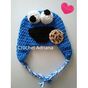 Gorro Come Galletas Niños Y Adultos Crochet