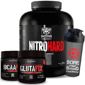 0d0b37ddc Kit Suplementos Glutamina - Suplemento para Massa Muscular no Mercado Livre  Brasil