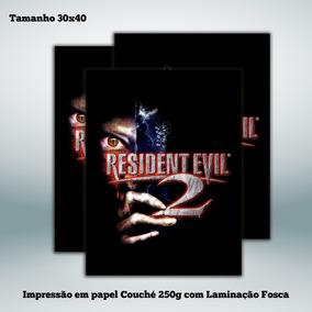 Poster Resident Evil 2 - 30x40 Cm