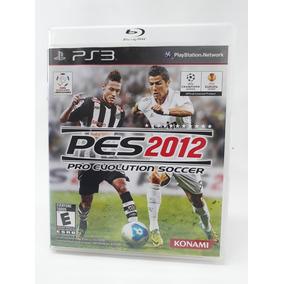 Jogo Pes 12 Pro Evolution 2012 Ps3 Frete 12,00 Seminovo