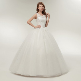 Vestido Noiva Princesa Evangélica Pronta Entrega Comportado