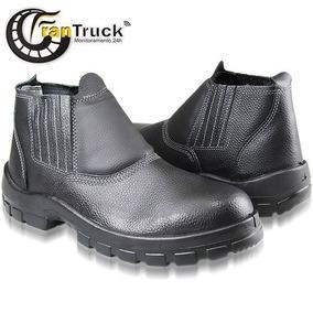 afc3fd4a00dfb Botina Segurança Com Bico De Aço Sapatão Bota - Calçados, Roupas e ...