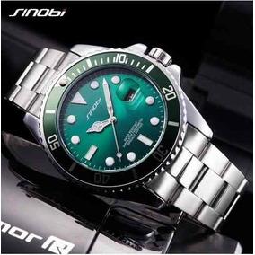 3b960939fe7 Relógio Sinobi Masculino Design Elegante Moderno Ultrafino ...