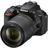 Cámara Nikon D5600 24.2mp Dslr Con Lente Vr 18-140 Mm