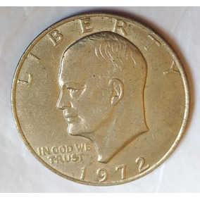 Moeda De Dólar De Prata, 1972