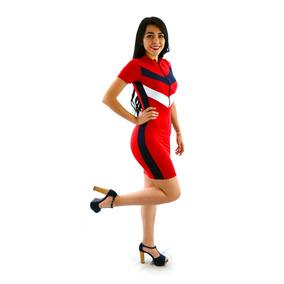 Vestidos Casuales Sexys Cortos Dama Juveniles Rojo Xymw04625