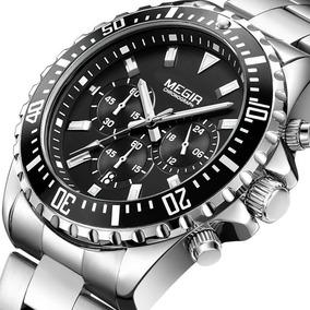 Reloj Japonés Cronógrafo C/acero   Promoción $2,701 -30%dto