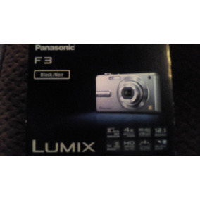 Cámara Fotográfica Panasonic Lumix F3 12.1mpx