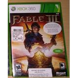 Fable 3 Videojuego Xbox360 Nuevo Y Sellado