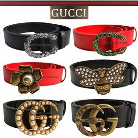 Cinturon Gucci Mujer - Cinturones en Mercado Libre México 627142ab3e1