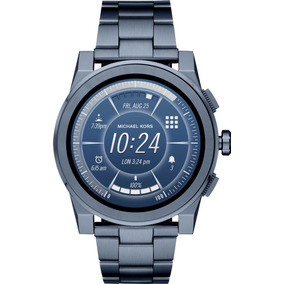 Relogio Smartwatch Michael Kors Access Mkt5028 Azul Grayson