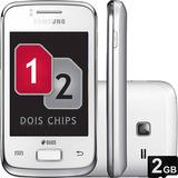 Smartphone Samsung Galaxy Y Duos 3g 3mp - Branco (vitrine)