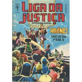 Quadrinhos - Liga Da Justiça - Ed. 10 - 1989 - Abril-dc 84pg