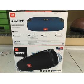 Jbl Extreme Caixa Som Xtreme Original Bluetooth 40w (azul)