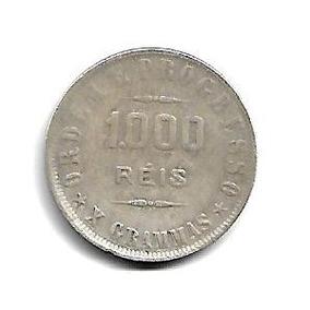 Moeda Brasil 1000 Réis 1908