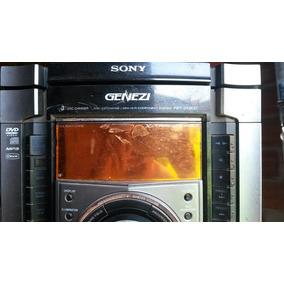 Micro System Sony Hcd-zx80d/fst-zx80d (defeito Tirar Peças)