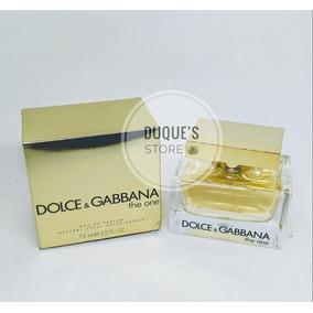 d1ee4fef3726b Dolce Gabbana The One 75ml - Perfumes Importados Dolce   Gabbana no ...