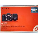 Camara Sony Alfa 200 Con Lente St 18-70 Mm F 3.5-5.6