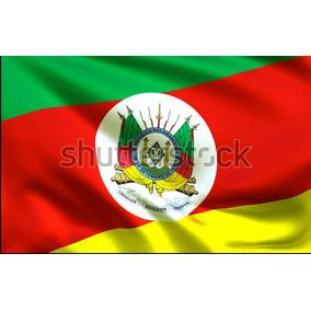 Painel Sublimado Bandeira Rio Grande Do Sul 2,0 A X 2,5 Larg