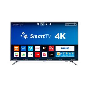 Smart Tv Led 55 Polegadas Philips 55pug6513 4k Usb 3 Hdmi