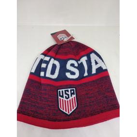 237202fcda716 Gorro Frio Beanie Usa Estados Unidos Selección Reversible